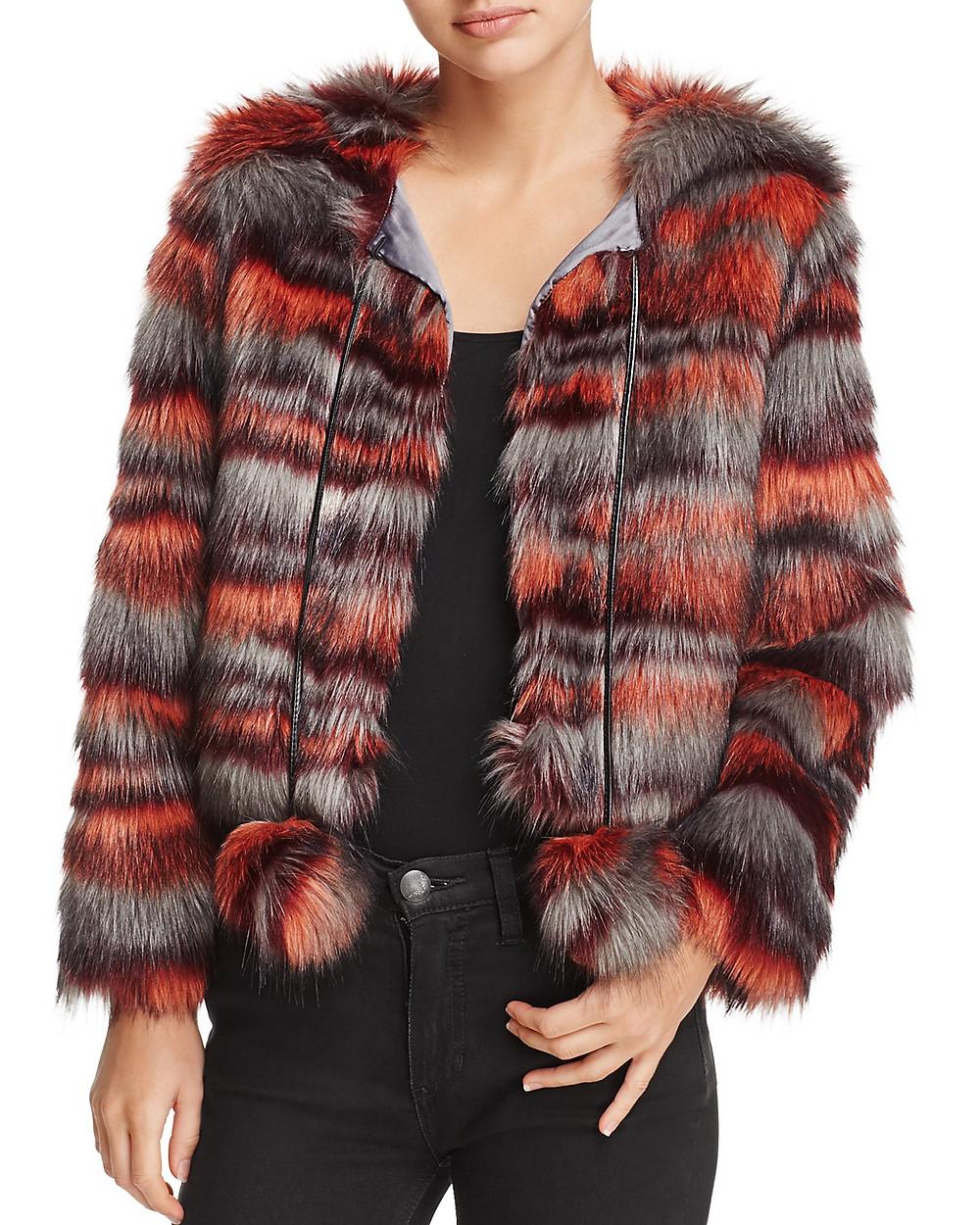 Ramy Brooke Krissy Faux Fur Coat