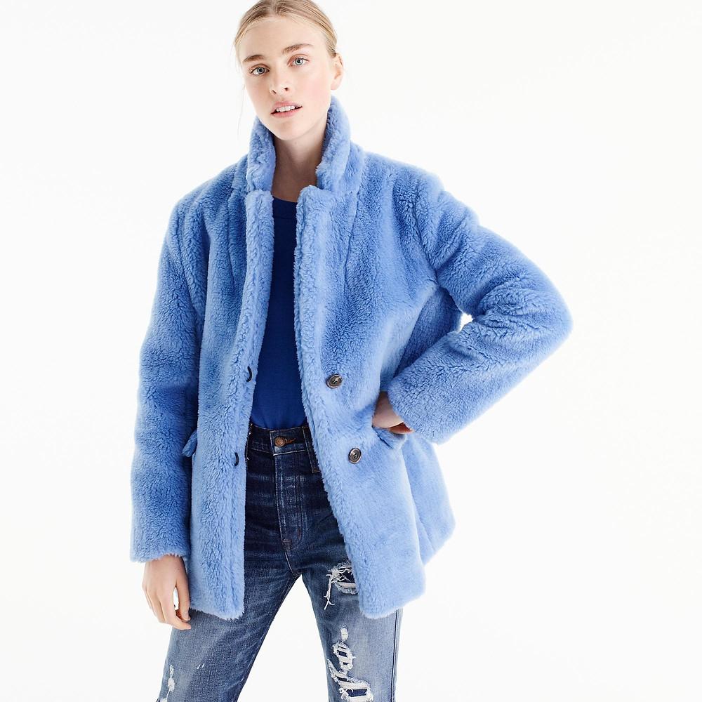 J. Crew The Teddy Coat