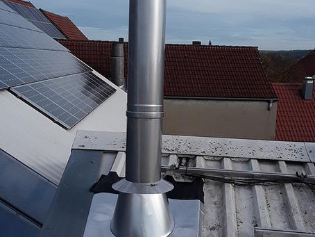 Referenz Pelletanlage + Solarthermie