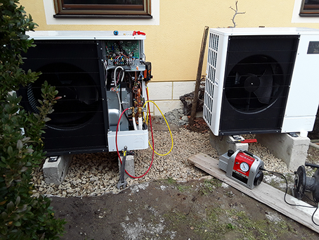 Video-Referenz Kaskadierte Wärmepumpenanlage