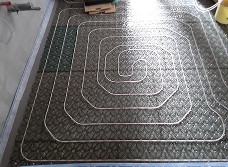 Referenz Fußbodenheizung