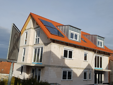 Referenz Solarthermie/Mehrfamilienhaus