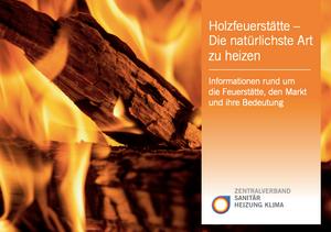 Infobroschüre über Wärmepumpe/Holzofen-Kombi