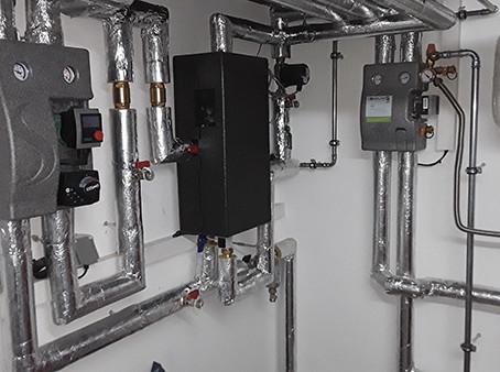Referenz Frischwasserstation/Solarthermie