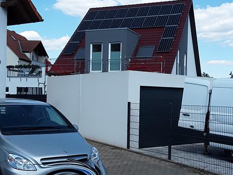 Referenz Photovoltaik und Stromspeicher