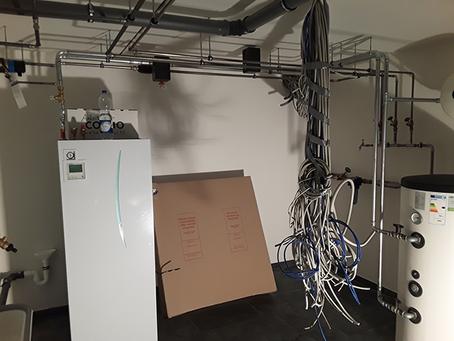 Video-Berufsalltag Installation eines Neubaus