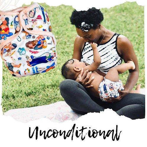Pañal de bolsillo bebeboo unconditional