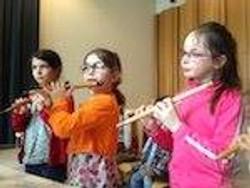 小さいフルーティスト達_Les minis flutistes