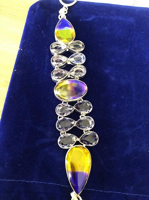 Multicolor Gemstone Bracelet