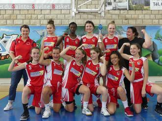 ESIG soutien le sport local : les minimes de l'AS Horbourg-Wihr Basket, championnes d'Alsace
