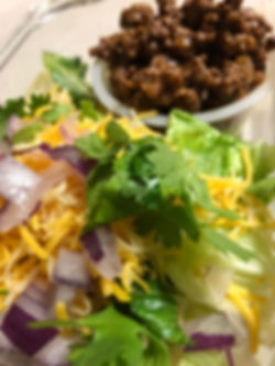 Keto Taco Salad Bowls