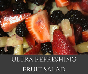 This incredible, refreshing salad is filled with fresh berries and yummy pineapple to combine the perfect fruit salad for summer!