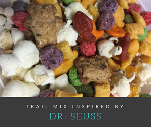 Celebrate Dr. Seuss' birthday with this super fun Dr. Seuss inspired trail mix!