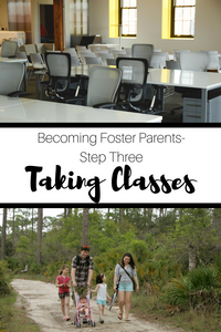 Learn all about step three of becoming foster parents- PRIDE Classes.