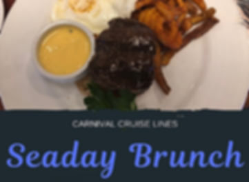 Carnival Cruise SeaDay Brunch