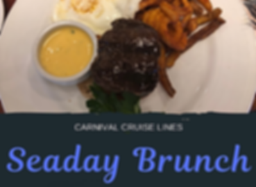 Carnival Cruise SeaDay Brunch