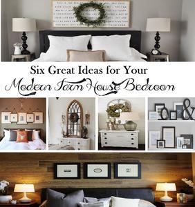 Modern Farm House Style Bedroom Ideas