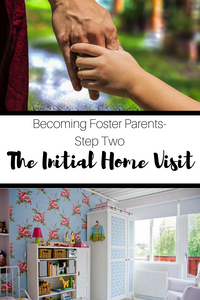 Join us in our journey of becoming foster parents.  This post highlights step two of the process- the initial home visit.  You won't believe what a breeze this step is!