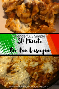 Would you believe me if I told you that you could have all of the delicious flavors of lasagna in a 30-minute one-pot meal?  This fabulous lasagna recipe is perfect for busy weeknights and packs all of the flavors of this classic Italian dish with about 1/4 of the work!