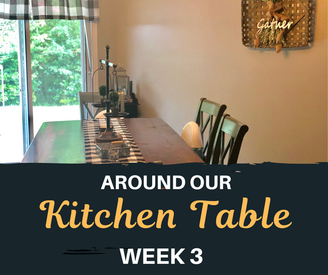 Around Our Kitchen Table #3