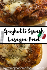 This fabulous spaghetti squash recipe has all of the flavors of your favorite Italian dish without all of the carbs!
