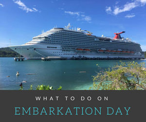 Are you heading out on a cruise soon?  These tips will help you get your trip started off on the right foot!  Bon Voyage!