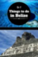 Belize Blue Hole Xunantunich