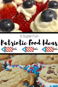 Celebrate all things red, white, and blue with these fun, festive patriotic food ideas!
