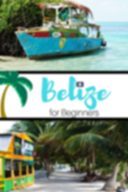Belize for Beginners Caye Caulker Beach Boat