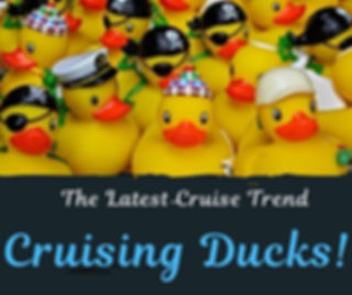 The Latest Cruise Trend: Cruising Ducks! (with free printables)