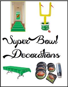 Super Bowl Decorations