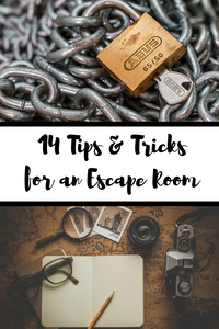 Use these 14 tips and tricks to help you and your group escape from an Escape Room before the clock runs out!