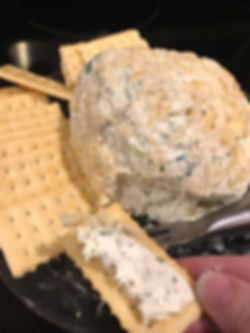 Ranch and Onion Cheese Ball