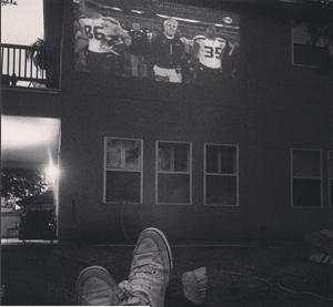 Outdoor Super Bowl
