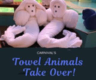 Carnival Towel Animal
