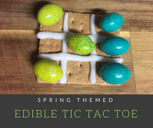 Turn snack time to into fun time with this adorable edible tic tac toe game!