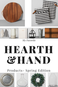 My Favorites From Hearth & Hand Spring Line at Target