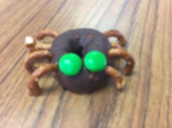 Halloween Donut Spider