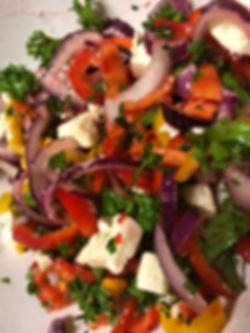 3 Pepper Salad