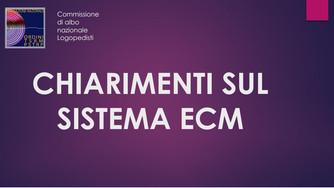 Chiarimenti sul sistema ECM