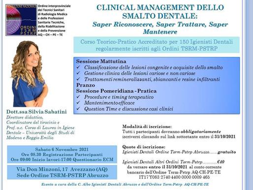 Corso Teorico Pratico Accreditato per 150 Igienisti Dentali