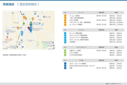 統計調査レポート_周辺地域の商業施設