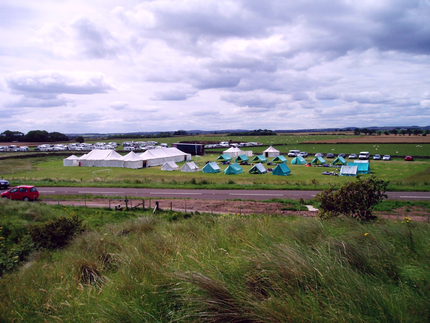 Camp at Seahouses