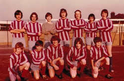 Football Team - Back in the Day!