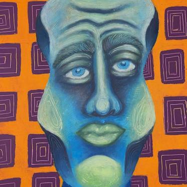 'Self Portrait In Lockdown'
