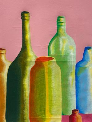 Bottle Still Life