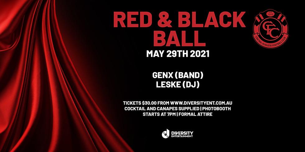 Central Augusta Football Club - Red & Black Ball
