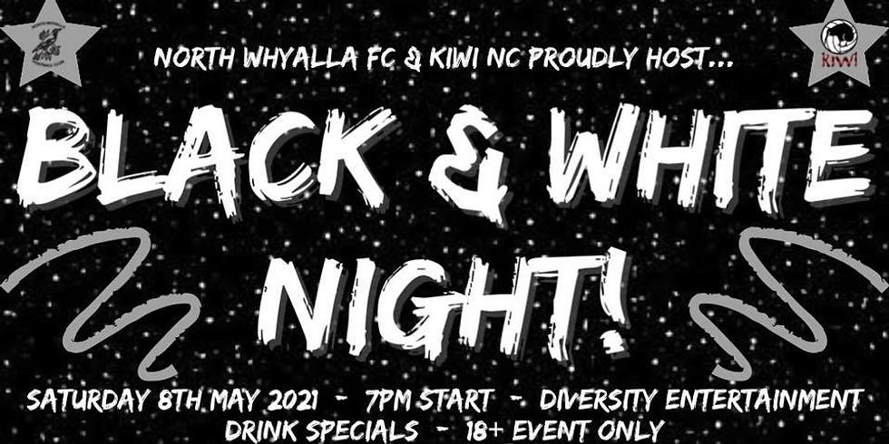 NWFC & Kiwi Netball Club - Black & White Night