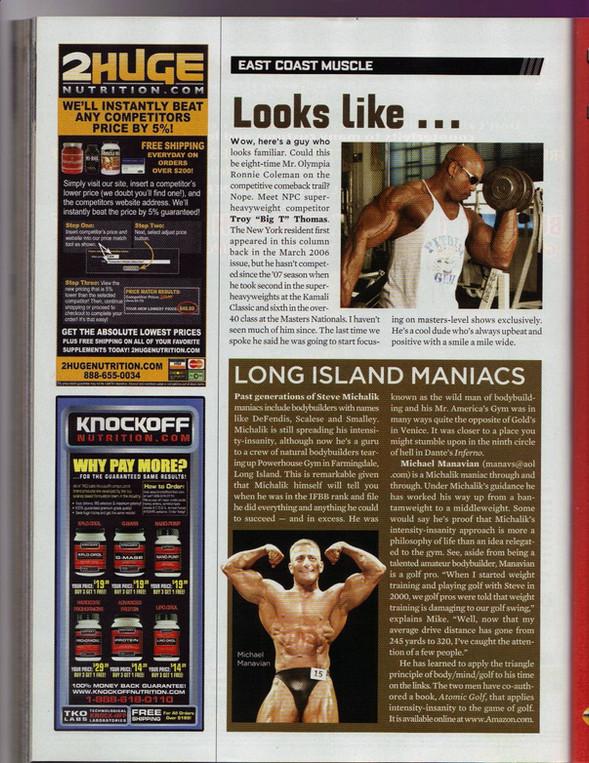 Muscle Magazine 2008
