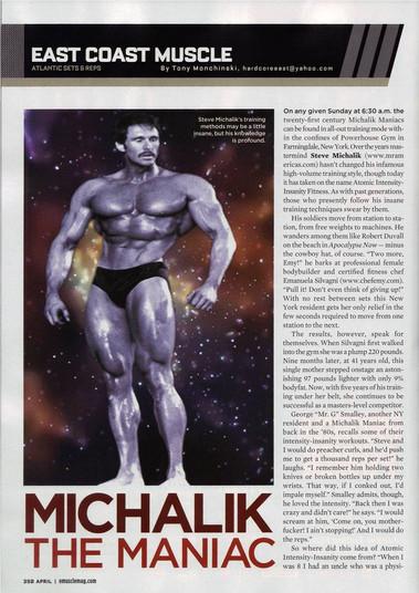 Muscle Magazine 2007